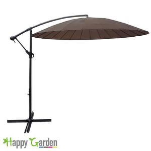 parasol marron achat vente parasol marron pas cher cdiscount. Black Bedroom Furniture Sets. Home Design Ideas