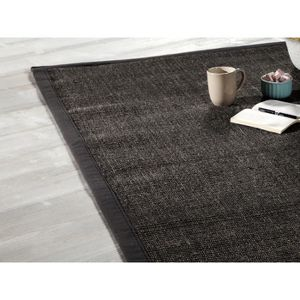 tapis sisal gris achat vente tapis sisal gris pas cher cdiscount. Black Bedroom Furniture Sets. Home Design Ideas