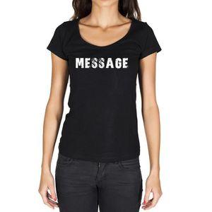 T-SHIRT message Tshirt Femme Tshirt