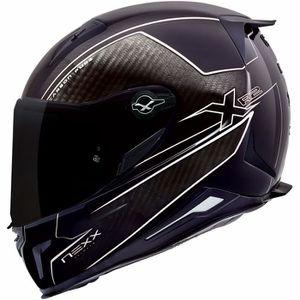 CASQUE MOTO SCOOTER Moto Nexx Casque XR2 Pure Carbon Blanc XL
