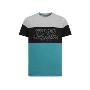 T-SHIRT T-shirt MERCEDES AMG Cut n sew 2019 vert pour homm