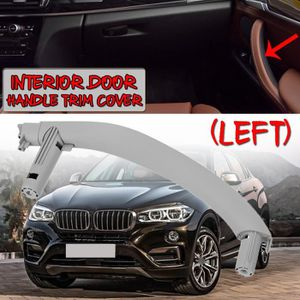 Happt Accessoires Auto de Voiture Avant Gauche Porte int/érieure poign/ée de Porte poign/ée du Panneau int/érieur de la Garniture de Garniture pour BMW X3 F25 X4 F26 2011-2017