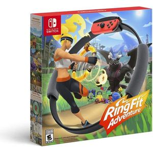 JEU NINTENDO SWITCH Jeu Nintendo Switch Ring Fit Adventure