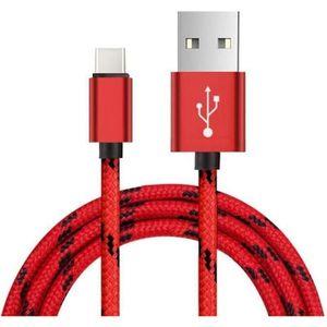 CÂBLE TÉLÉPHONE 2m Type de Câble C USB-C Data Sync Chargeur pour H