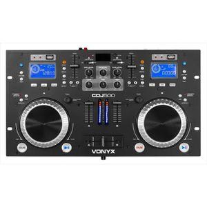 TABLE DE MIXAGE VONYX CDJ500 LECTEUR CD / USB AVEC BLUETOOTH, TABL