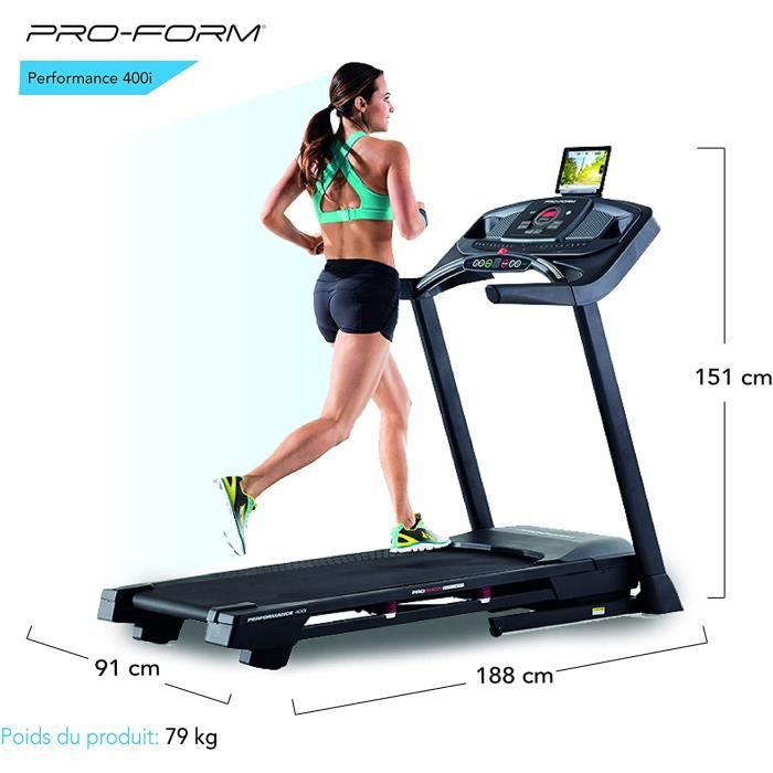 Proform Tapis de course pliale - Série Performance