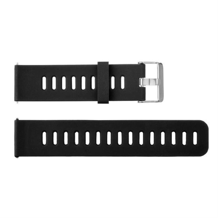 bracelet de montre vendu seul Bracelet de montre en silicone de sport de remplacement de mode pour Huawei Watch GT FQQ90312104BK_non