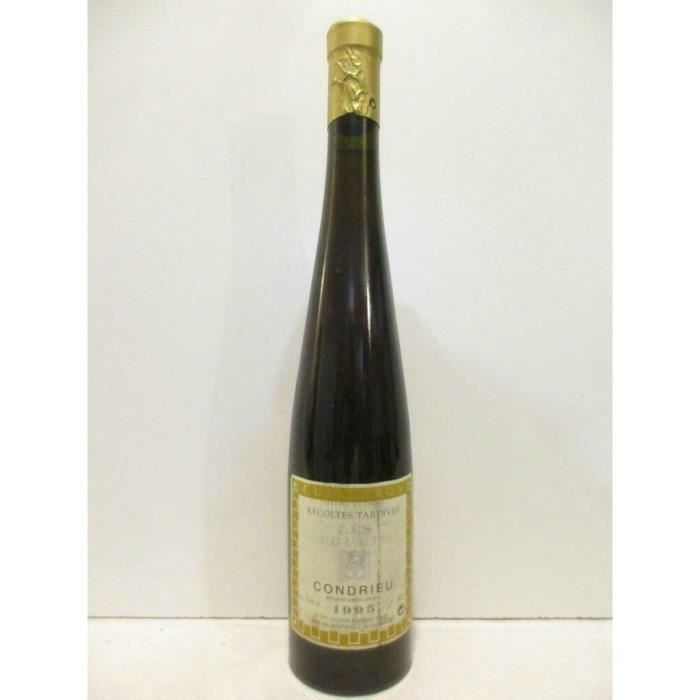 50 cl condrieu yves cuilleron les eguets vendanges tardives liquoreux 1995 - rhône