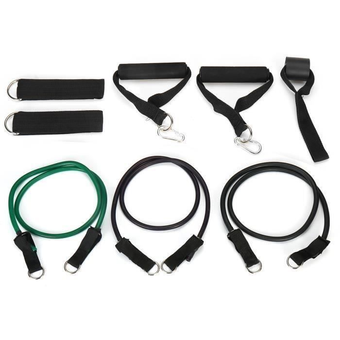 Bande d'extension Elastique Fitness Corde de Tension Extensible de Musculation Yoga Physique Exerce 75LB