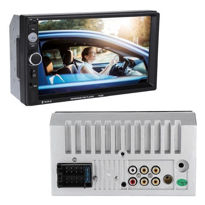 Duokon 7 pouces Autoradio 2 din Lecteur MP5 de Voiture Écran Tactile MP5 Player Multimedia Support de Radio FM Stéréo BT - Image