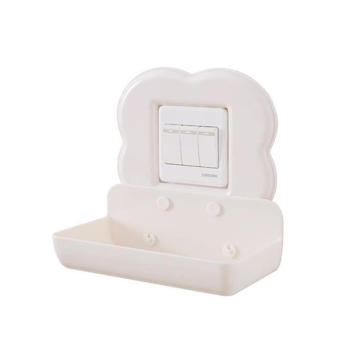 2872 type de pâte grand téléphone portable charge stand rack mural interrupteur stickers cuisine rack de stockage de salle de bains