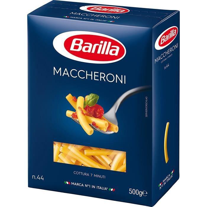 Barilla Pâtes Maccheroni 500 g