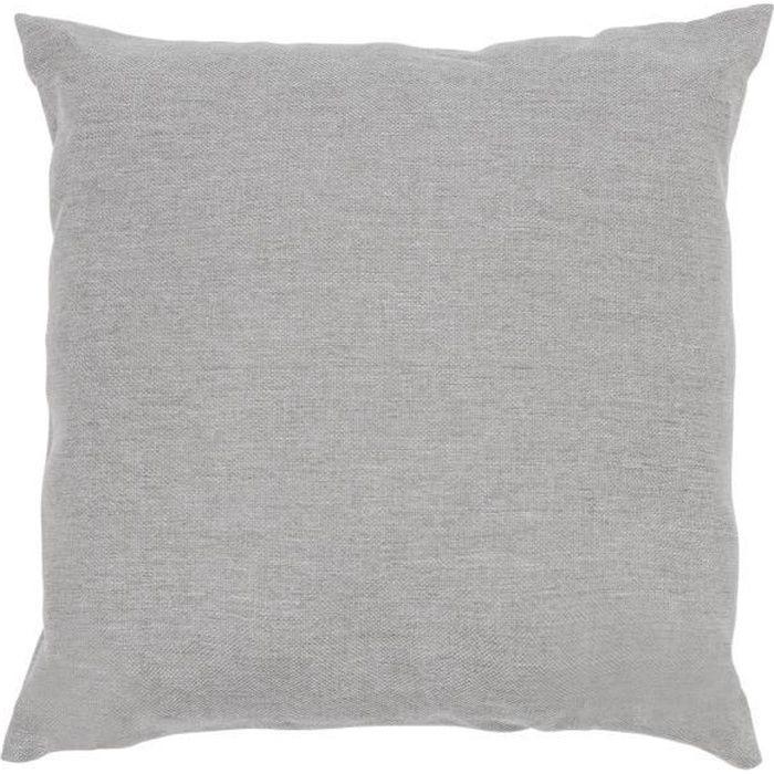 Blumfeldt Titania Pillow Coussin d´extérieur extra-doux pour salon de jardin - polyester résistant aux intempéries - gris clair
