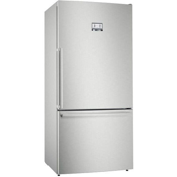 bosch - réfrigérateur combiné 86cm 613l a++ nofrost inox - kgb86aifp