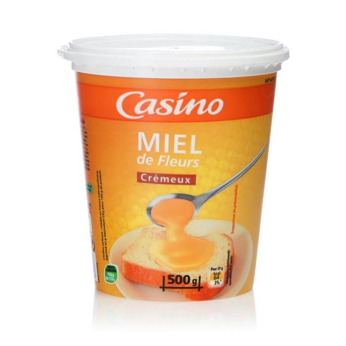 CASINO Miel de Fleurs crémeux - 500 g