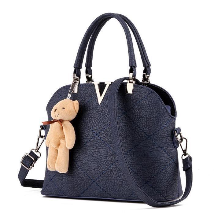 Nouvelle tendance sac de luxe cuir De Luxe Femmes Sacs Designer Sac De Luxe qualité supérieure bleu modérée