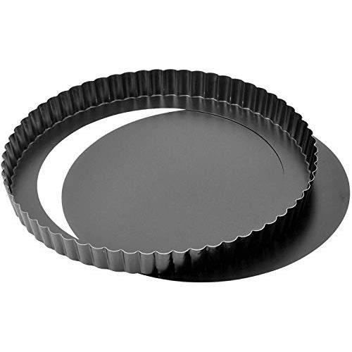 Kaiser Moule à tarte démontable Delicious 28 cm noir 23.0064.7579