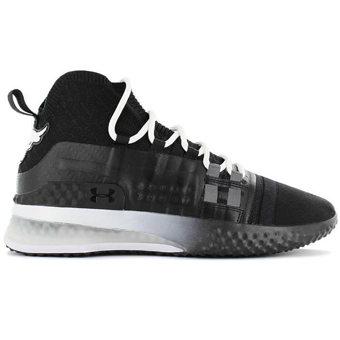 Under Armour – THE ROCK – Project Rock 1 3020788-001 Homme Chaussures Baskets Noir