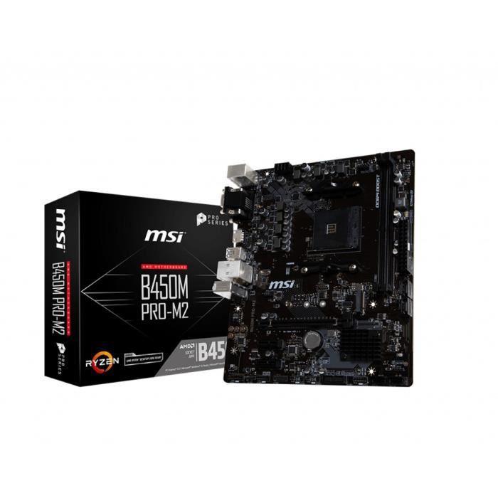 Msi Carte mère B450m Pro M2 V2
