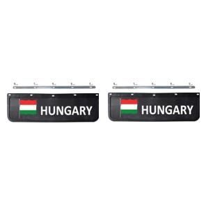 BAVETTE 18X60 AVEC FIXATION (Hongrie - Noire/blanche)