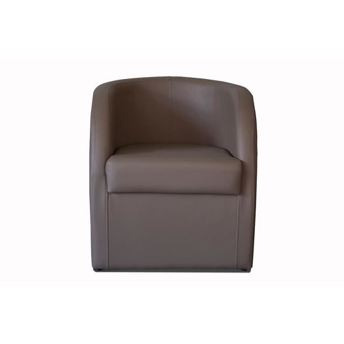 fauteuil cabriolet taupe en pvc avec coffre en option isis 8 avec coffre achat vente. Black Bedroom Furniture Sets. Home Design Ideas