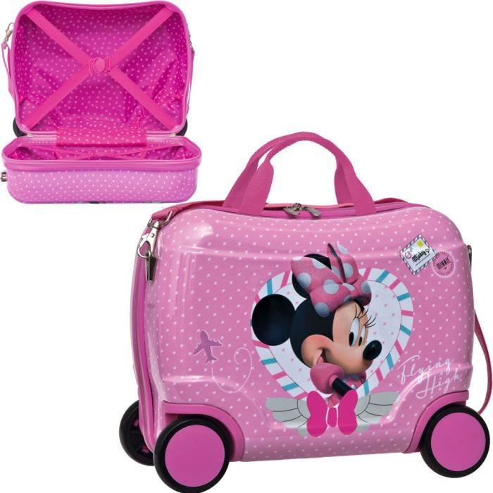 petite valise roulettes minnie haute voltige achat. Black Bedroom Furniture Sets. Home Design Ideas