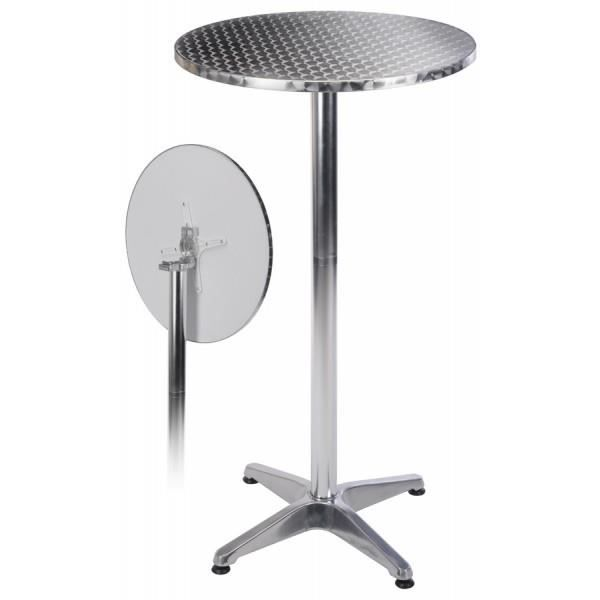 Table bar alu achat vente mange debout table bar alu for Achat table bar
