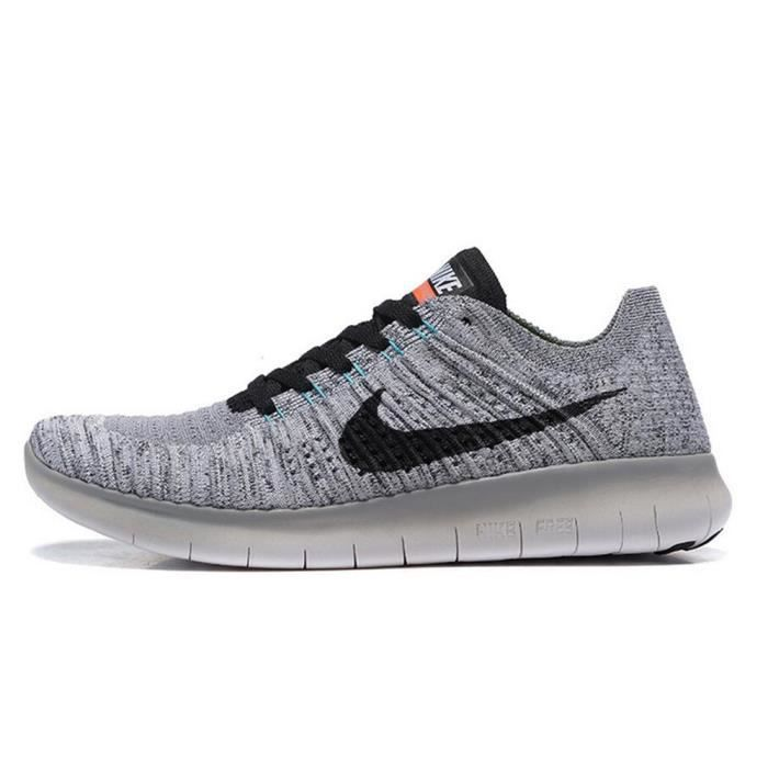 promo code abc9e 9cbd1 BASKET Hommes Nike Free Rn Flyknit Baskets Chaussures de