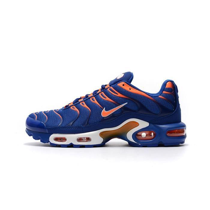 Nike Air Max TN Bleu Orange,Running Entrainement Homme Bleu ...