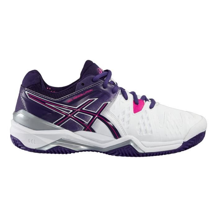 new styles f5b78 87c2a Chaussures Femme Asics Gel-resolution 6 Clay
