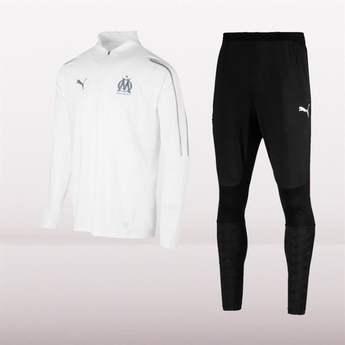 b020267ca51 OM Marseille Survetement Enfant Football Puma Training 2018 19 ...