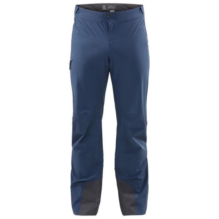 Haglofs Homme L.I.M Pantalon Pantalon-Noir Sport Extérieur Imperméable