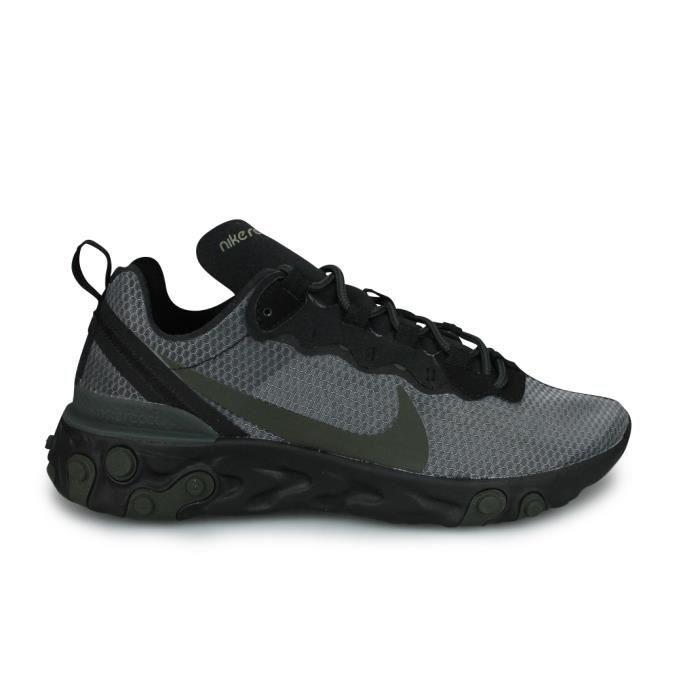 Nike React Element 55 Noir Noir NOIR - Cdiscount Chaussures