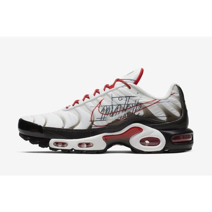 NIKEs AIRs MAX TN Plus TXT Chaussures de Running Homme blanc ...