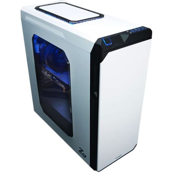 zalman bo tier pc z9 neo moyen tour format atx pas d 39 alimentation blanc prix pas cher. Black Bedroom Furniture Sets. Home Design Ideas
