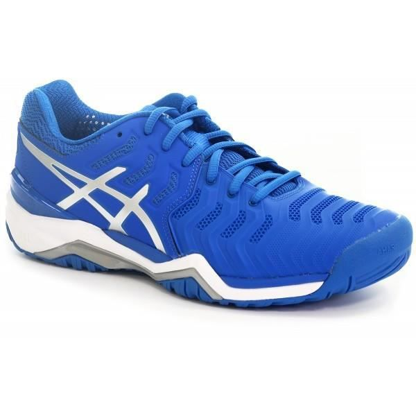 asics bleu junior