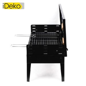 barbecue bois cuve fonte achat vente pas cher. Black Bedroom Furniture Sets. Home Design Ideas