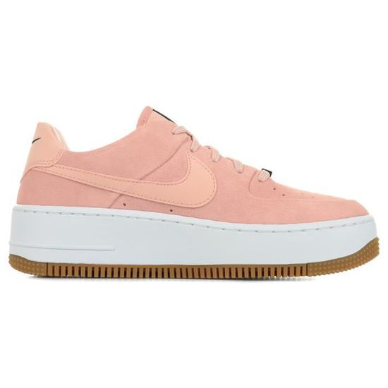 Baskets Nike Air Force 1 Sage Low Wn's Rose, saumon - Cdiscount ...