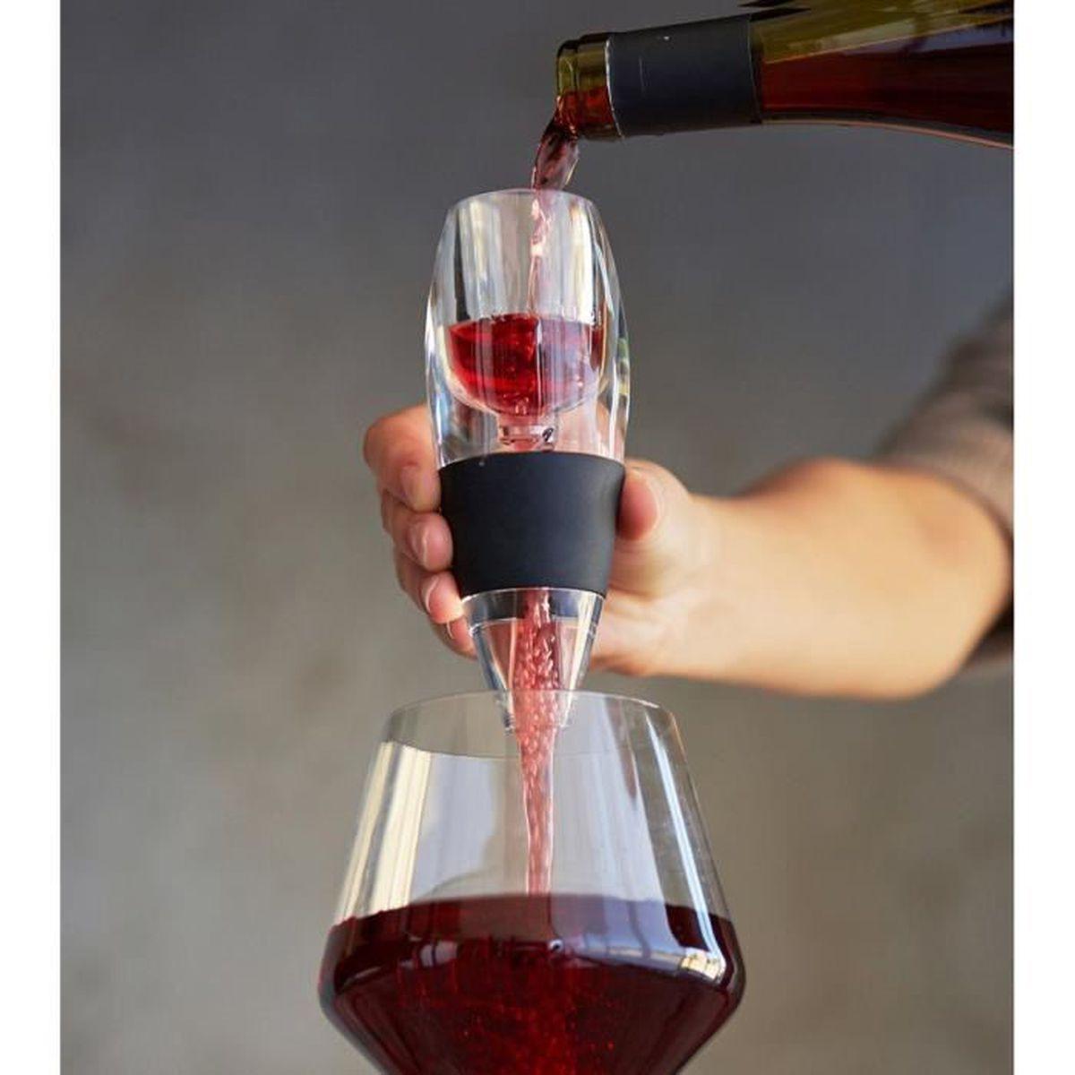 Mini aérateur de vin avec Filtre Support Support Barre Outils