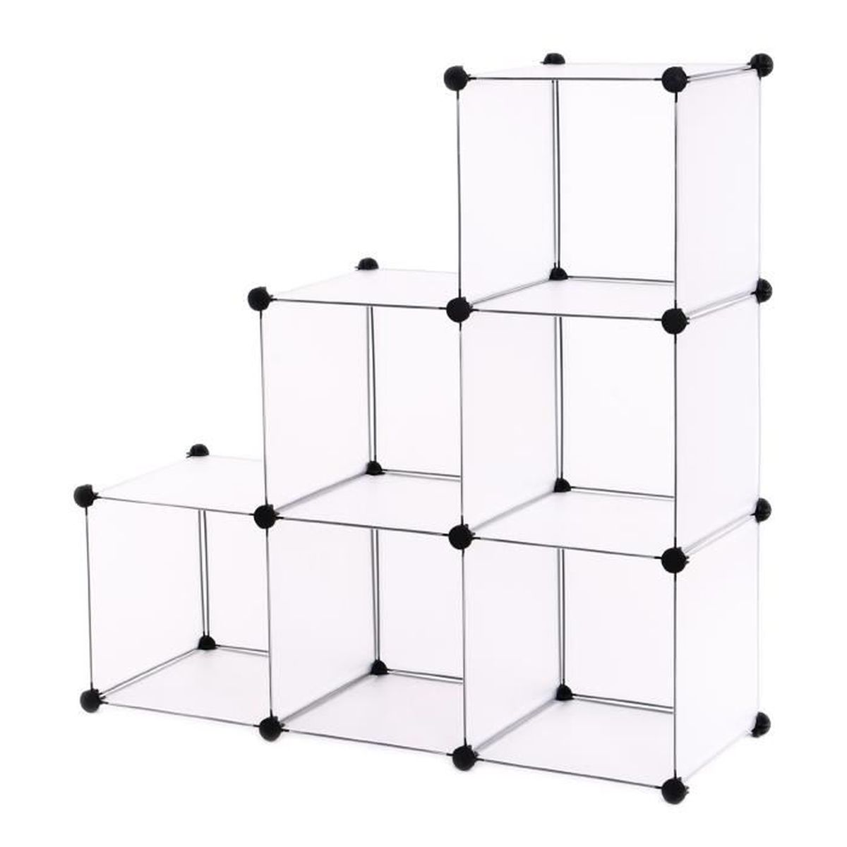 diy cubes tag re de rangement modulables plastiques cadre. Black Bedroom Furniture Sets. Home Design Ideas