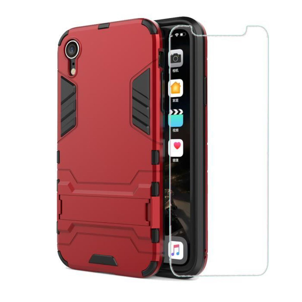 coque double iphone xr
