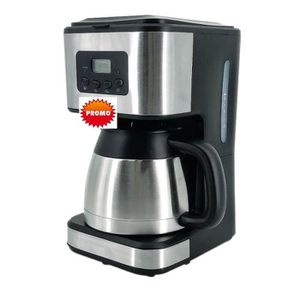CAFETIÈRE CAFETIÈRE ISOTHERME PROGRAMMABLE BLACK INOX MEGA P