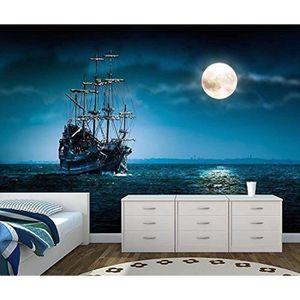 PAPIER PEINT pirate ship papier peint  papier peint enfants cha