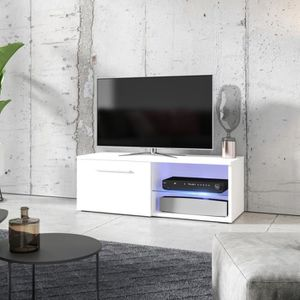 MEUBLE TV Meuble TV / Meuble salon - TENUS SINGLE - 100 cm -