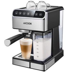 COMBINÉ EXPRESSO CAFETIÈRE Machine à Café Automatique,15 Bar Cafetiere Expres