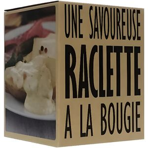 raclette bougie achat vente raclette bougie pas cher cdiscount. Black Bedroom Furniture Sets. Home Design Ideas