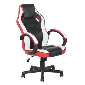 CHAISE DE BUREAU FurnitureR Fauteuil de Bureau Gaming Chaise Gamer