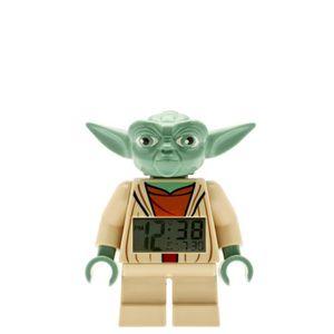 RÉVEIL SANS RADIO LEGO Réveil Yoda - Star Wars