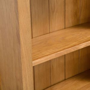 BIBLIOTHÈQUE  bibliothèque en bois est fabriquée à partir de chê