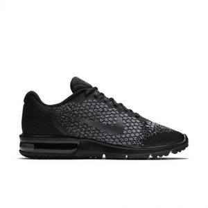 BASKET NIKE Baskets Air Max Sequent 2 - Homme - Noir